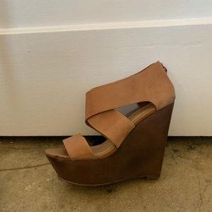 Aldo Camel Sandals
